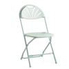 Wedding White Fan Chairs